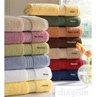 Wholesale Skin Care Super Soft Cotton Bath Towels Chemical Free For Family Different Sizes from china suppliers