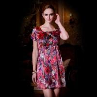 Wholesale China Silk Dress/Printing Silk Dress from china suppliers