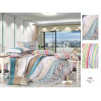Wholesale Personalized Flat Patterned Stripe Decorative Bedroom 100 % Cotton Colorful Bedding Sets from china suppliers
