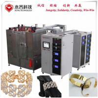 Wholesale Bracelet  PVD Gold  Coating Machine, Stainles Steel Bracelet Gold Plating Equipment,  PVD Gold Plating from china suppliers