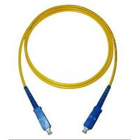 Buy cheap SC-SC Simplex Single Mode Fiber Optic Patch Cord from wholesalers