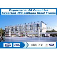 Buy cheap Pre Fab Steel Frame Buildings Good Vibration Performance ISO9000 ISO14000 from wholesalers
