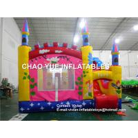 Wholesale Customized Fairy Inflatable Bouncer Slide / Girl'S Inflatable Small Jumping Castle from china suppliers