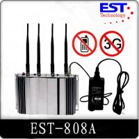 Wholesale 3G Cell Phone Signal Jammer Blocker EST-808A , 2100 - 2200MHZ Frequency from china suppliers