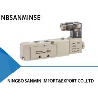 Wholesale Double / Single Coil Electro Pneumatic Solenoid Directional Control Valve 1 / 8 Inch from china suppliers