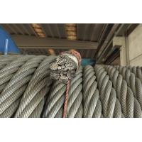 Wholesale Low Speed Heavy Lifting steel Flattened Strand Wire Rope 6V x 34 from china suppliers