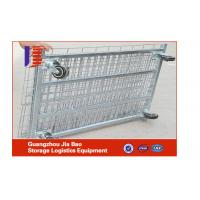 Wholesale Foldable Roller 1000L Wire Container Storage Cages For Convenience Store from china suppliers