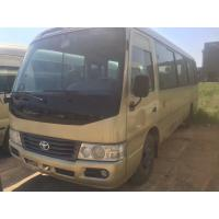 Wholesale used Toyota coaster bus left hand drive  diesel  engine 6 cylinder  TOYOTA coaster bus for sale from china suppliers