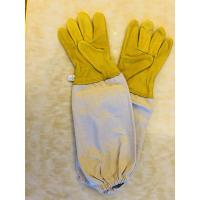 Wholesale Sheepskin Protective Bee Clothing Sting Proof Gloves Protective Against Bees For Bee Keepers from china suppliers