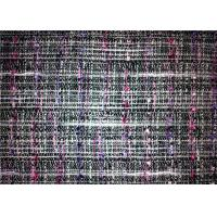 Wholesale Woven Technics Tweed Material Fabric , Different Color Wool Blend Fabric 340g/M from china suppliers