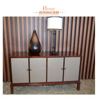 Wholesale Luxury Walnut Console Table for Living Room / Star Hotel Hobby Lobby from china suppliers