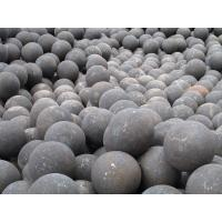 Quality HRC 58-64 Forged Grinding Media Balls For Mining , High Manganese for sale