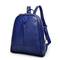 Wholesale Double Zipper Fashion Ladies Backpack With Waterproof Leather / Reinforce Shoulder Straps from china suppliers