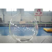 Wholesale Clear TPU Inflatable Water Walking Ball With Durable Tizip Zipper from china suppliers