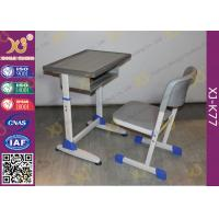 Wholesale School Furniture Single Student Desk And Chair With Strengthened Station Leg from china suppliers