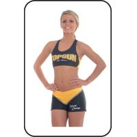 Wholesale Sublimation Printed Cheerleading Sportswear Moisture Wicking from china suppliers