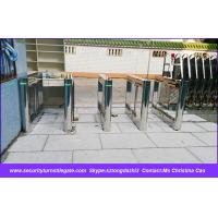 Wholesale Security Camera System Speedgate Turnstile For Airport , One Way / Two Way from china suppliers