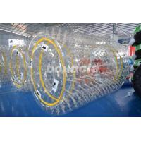 Wholesale 0.8mm/1.0mm PVC Material Transparent Inflatable Water Roller WR08 from china suppliers