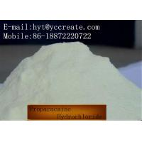 Wholesale CAS 5875-06-9 Local Anesthetic Powder Proparacaine Hydrochloride / Proparacaine HCl from china suppliers