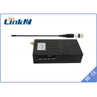 Buy cheap 1W NLOS COFDM SD Wireless Handheld Transmitter for Helicopter from wholesalers