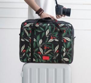 Quality 2017 New Foldable Pringting luggage bag for sale