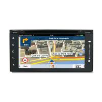 Wholesale Mirror Link Touch Screen Car Dvd Player For Toyota Universal , Toyota Navigation System from china suppliers