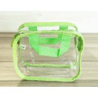 Simple Girl Transparent PVC Cosmetic Bags Clear Vinyl Travel Kit for sale