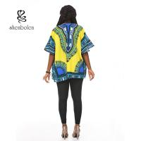 Quality Summer High Fashion womens african clothing Short sleeve 100% Cotton for sale
