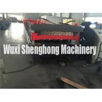 Wholesale 20 KW Double Layer Roll Forming Machine For Roof Tiles , Wall Cladding from china suppliers