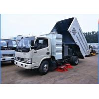 Wholesale Dongfeng 4x2 Road Sweeper Truck 4cbm 6 Wheels With Brush Humanized Operation from china suppliers
