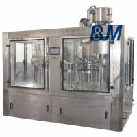 Wholesale 2000 - 3000 BPH Soft Drink / Carbonated Drink Filling Machine Stainless Steel from china suppliers