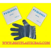 Wholesale PE Disposable Transparent Gloves For Food Grade and Salon Grade from china suppliers