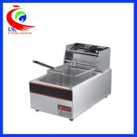 Wholesale Automatic KFC Commercial Electric Tabletop Deep Fryer Stainless Steel One Tank from china suppliers