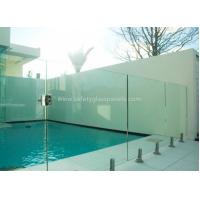 Wholesale High Temperature Glass Swimming Pool Security Fence 8mm - 12mm With Polished Edge from china suppliers