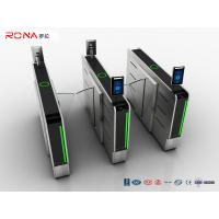Wholesale DC Brushless Motor Flap Barrier Turnstile Half Height Security SUS Access Control Systems from china suppliers