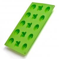Wholesale 15 cups polygon silicone cake mould ,chocolate mould from china suppliers