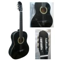 Wholesale White ABS Binding Wood Classical Guitar Basswood Junior For Beginners CG3910AW from china suppliers