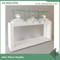 Quality Showcase display furniture jewelry display shop glass cabinet interior design for sale