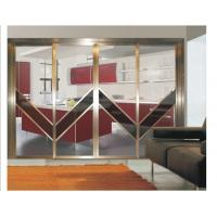 Interior partition metal sliding doors aluminum frame for Interior sliding glass doors room dividers