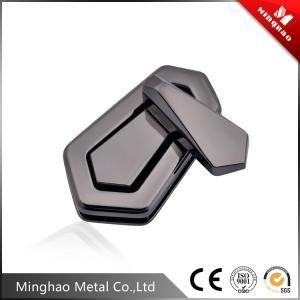 Wholesale Handbag fittings twist lock,gun metal bag turn lock 47.32*27.43mm from china suppliers