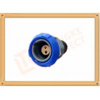 Wholesale Push Pull 2 Pin Circular Connector Self Locking / Double Reed Locked from china suppliers