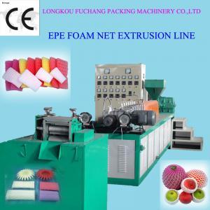 Wholesale EPE Foam Fruit Net Extruder Packing fruit foam net for mango/papaya extrusion machine from china suppliers