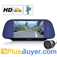 Wholesale 7 Inch TFT HD Rearview Monitor + Rearview Camera from china suppliers