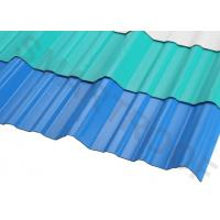 Wholesale Erosion Proof PVC Roofing Sheets Shinny 1 Inch Wave For Resort from china suppliers