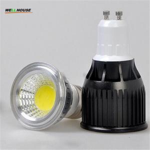 Wholesale 3W 5W 7W 9W 10 12W 15W 20W COB Dimmable Gu10 LED spotlight bulb E27 E14 Gu5.3 AC85-265V 220V 110V DC12V LED Dimmable spo from china suppliers
