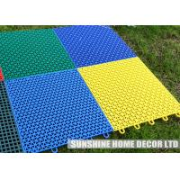 Wholesale Football Field Sport Court Surface , Environmentally Friendly Flooring from china suppliers