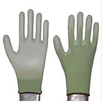 Wholesale XL Wrinkle Finished PU Coated Glove with Knitted Color Nylon Lining from china suppliers