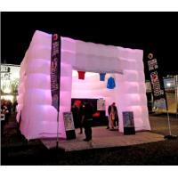 Wholesale 5m White Inflatable Cube Tent with Lights for Outdoor Event and Party Supplies from china suppliers