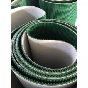 Quality Grass Pattern Rough Surface PVC PU Conveyor Belt Fire Retardant Portable Conveyor Belt for sale