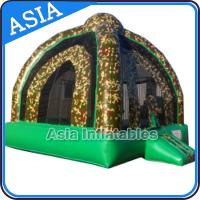 Wholesale Outdoor Inflatable Marine Camo Bongo Bouncer For Children Party Games from china suppliers